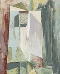 Fine Art - Work on Paper:Watercolor, Alfred H. Mauer (American, 1868-1932). Abstract Portrait, circa 1930. Gouache on paper. 21-1/4 x 17-3/4 inches (54.0 x 4...