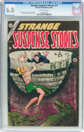 Golden Age (1938-1955):Crime, Strange Suspense Stories #21 (Charlton, 1954) CGC FN 6.0 Off-white pages....