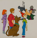 Animation Art:Production Cel, The 13 Ghosts of Scooby-Doo Production Cel Setup(Hanna-Barbera, 1986). ...
