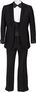 "Movie/TV Memorabilia:Costumes, A Richard Dawson Tuxedo from ""Family Feud.""... (Total: 4 )"
