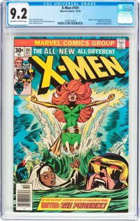 X-Men #101 (Marvel, 1976) CGC NM- 9.2 Off-white to white pages