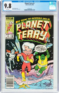 Modern Age (1980-Present):Science Fiction, Planet Terry #1 (Marvel, 1985) CGC NM/MT 9.8 White pages....