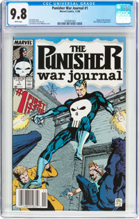Punisher War Journal #1 (Marvel, 1988) CGC NM/MT 9.8 White pages