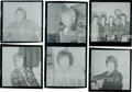 Music Memorabilia:Photos, Rolling Stones - Group of Six Original Black and White Negatives with Full Copyright (1966)....