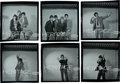 Music Memorabilia:Photos, Who - Group of Six Original Black and White Negatives with FullCopyright (1965)....