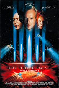 "The Fifth Element (Columbia, 1997). One Sheets (2) (26.75"" X 39.75"") DS Regular & Advance. Science Fic..."