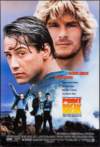 "Point Break & Other Lot (20th Century Fox, 1991). One Sheets (2) (27"" X 40"") DS & SS. Action. ... (Tot..."
