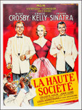 "Movie Posters:Musical, High Society (MGM, R-1980s). French Grande (46"" X 62""). Musical.. ..."