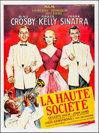 "High Society (MGM, R-1980s). French Grande (46"" X 62""). Musical"