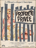 "Movie Posters:Crime, Private Property (Lux Films, 1960). French Grande (46"" X 63""). Crime.. ..."