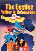 "Movie Posters:Animation, Yellow Submarine (United Artists, R-2000s). French Half Grande(31.5"" X 45.25""). Animation.. ..."
