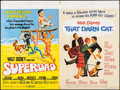 """Movie Posters:Crime, Superdad/That Darn Cat Combo & Other Lot (Walt Disney Productions, 1974). British Quads (2) (30"""" X 40""""). Crime.. ... (Total: 2 Items)"""
