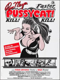 "Movie Posters:Sexploitation, Faster, Pussycat! Kill! Kill! (Eve Productions, R-1985). FrenchGrande (47.25"" X 63""). Sexploitation.. ..."
