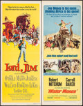 "Movie Posters:Adventure, Lord Jim & Others Lot (Columbia, 1965). Inserts (3) (14"" X36""). Adventure.. ... (Total: 3 Items)"