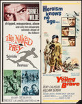 """Movie Posters:Adventure, The Naked Prey & Others Lot (Paramount, 1965). Inserts (3) (14""""X 36""""). Adventure.. ... (Total: 3 Items)"""