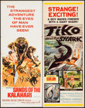 "Movie Posters:Adventure, Sands of the Kalahari & Others Lot (Paramount, 1965). Inserts(3) (14"" X 36""). Adventure.. ... (Total: 3 Items)"