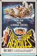 "Movie Posters:Comedy, The Three Stooges Meet Hercules (Columbia, 1962). One Sheet (27"" X 41""). Comedy.. ..."