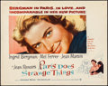 """Movie Posters:Foreign, Paris Does Strange Things (Warner Brothers, 1956). Half Sheet (22"""" X 28""""). Foreign.. ..."""