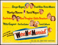 "Movie Posters:Comedy, We're Not Married (20th Century Fox, 1952). Half Sheet (22"" X 28""). Comedy.. ..."