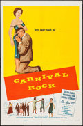"""Movie Posters:Rock and Roll, Carnival Rock (Howco, 1957). One Sheet (27"""" X 41""""). Rock and Roll....."""