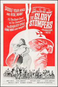 """The Glory Stompers (American International, 1967). One Sheet (27"""" X 41""""). Exploitation"""