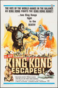 """Movie Posters:Science Fiction, King Kong Escapes (Toho, 1967). One Sheet (27"""" X 41""""). ScienceFiction.. ..."""
