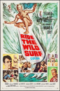 """Movie Posters:Sports, Ride the Wild Surf (Columbia, 1964). One Sheet (27"""" X 41""""). Sports.. ..."""