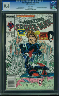 The Amazing Spider-Man #315 (Marvel, 1989) CGC NM 9.4 White pages