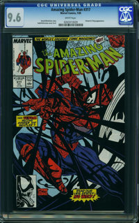 The Amazing Spider-Man #317 (Marvel, 1989) CGC NM+ 9.6 White pages