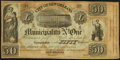 Obsoletes By State:Louisiana, New Orleans, LA- City of New Orleans Municipality No. One $50 Oct. 30, 1837 Remainder. ...