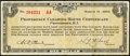 Obsoletes By State:Rhode Island, Providence, RI- Providence Clearing House Certificate $1 Mar. 8, 1933 Shafer RI150-1a. ...