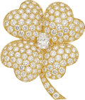 Estate Jewelry:Brooches - Pins, Diamond, Gold Brooch, Van Cleef & Arpels. ... (Total: 0 Items)