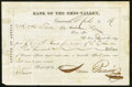 Obsoletes By State:Ohio, Cincinnati, (OH)- Bank of the Ohio Valley Letter of Advice $500Mar. 9, 1876. ... (Total: 2 items)