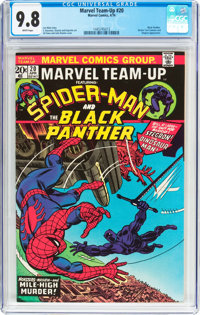 Marvel Team-Up #20 Spider-Man and Black Panther (Marvel, 1974) CGC NM/MT 9.8 White pages