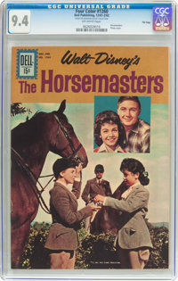 Four Color #1260 The Horsemasters - File Copy (Dell, 1961) CGC NM 9.4 Off-white pages