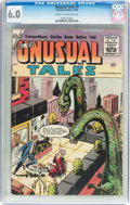 Golden Age (1938-1955):Horror, Unusual Tales #1 (Charlton, 1955) CGC FN 6.0 Cream to off-whitepages....