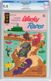 Wacky Races #5 File Copy (Gold Key, 1971) CGC NM 9.4 Off-white to white pages