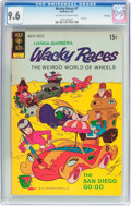 Bronze Age (1970-1979):Cartoon Character, Wacky Races #7 File Copy (Gold Key, 1972) CGC NM+ 9.6 Off-white towhite pages....