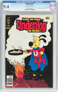 Bronze Age (1970-1979):Cartoon Character, Underdog #22 File Copy (Gold Key, 1978) CGC NM 9.4 Off-white towhite pages....