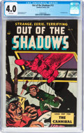 Golden Age (1938-1955):Horror, Out Of The Shadows #13 (Standard, 1954) CGC VG 4.0 White pages....