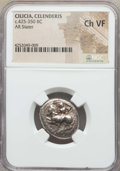 Ancients:Greek, Ancients: CILICIA. Celenderis. Ca. 425-350. AR stater. NGC ChoiceVF....