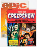Magazines:Science-Fiction, Epic Illustrated #3/Creepshow #nn Group (Marvel, 1980-82)Condition: Average VF/NM.... (Total: 2 Comic Books)