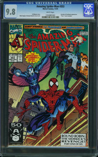 The Amazing Spider-Man #353 - WESTPORT COLLECTION VOL 2 (Marvel, 1991) CGC NM/MT 9.8 White pages