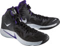 Basketball Collectibles:Others, 2014 Rudy Gay Game Worn Sacramento Kings Sneakers....