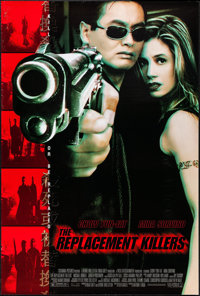 """The Replacement Killers & Others Lot (Columbia, 1998). One Sheets (4) (Approx .26.75"""" X 39.75"""") DS. Ac..."""