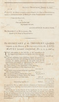 Books:Americana & American History, [Early American Imprints]. [Alexander Hamilton]. Collection ofTwenty-Eight Early United States Government Publications. [Ph...(Total: 30 Items)