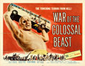 "Movie Posters:Science Fiction, War of the Colossal Beast (American International, 1958). HalfSheet (22"" X 28"") Albert Kallis Artwork.. ..."
