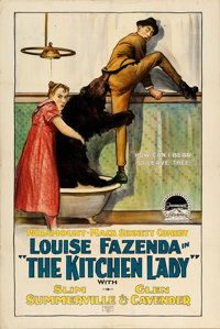 "The Kitchen Lady (Paramount, 1918). One Sheet (27.5"" X 41"")"