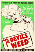 "Movie Posters:Drama, The Devil's Weed (Hallmark, 1949) AKA Wild Weed. Poster (40""X 60"").. ..."