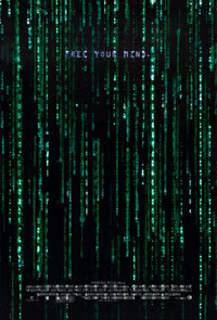 """The Matrix Reloaded (Warner Brothers, 2003). Holofoil One Sheet (27"""" X 40"""") """"Free Your Mind."""""""